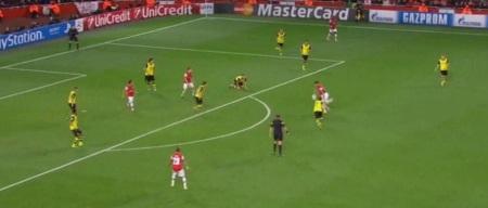 Arsenal facing 5 V 9 in attack